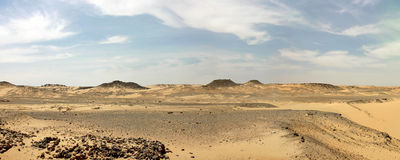 Libische woestijn. Royalty-vrije Stock Foto's