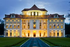 Liblice Chateau Hotel Royalty Free Stock Photography
