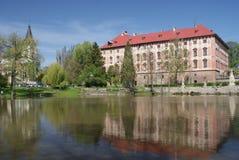 Libochovice castle Stock Image