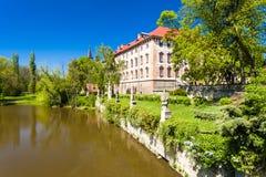Libochovice pałac Obrazy Stock