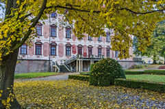 Libochovice-Schloss/Tschechische Republik Lizenzfreie Stockbilder