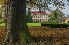 Libochovice-Schloss/Tschechische Republik Stockbild