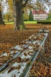 Libochovice slott/Tjeckien Royaltyfri Fotografi