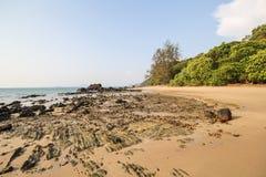 Libong海岛,酸值Libong, Trang,泰国 免版税图库摄影