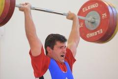 Libor Walzer - weightlifting Royalty Free Stock Photo