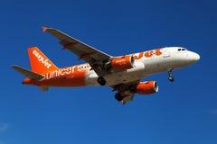Libré da UNICEF de Easyjet Airbus A319 Imagem de Stock