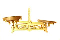 libra золота Стоковое Изображение