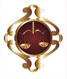 libra подписывает зодиак Стоковые Изображения