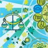Libra - air zodiac sign Royalty Free Stock Photos