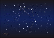 Libra constellation Royalty Free Stock Photography