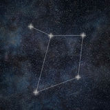 Libra Constellation. Zodiac Sign Libra constellation lines Stock Images