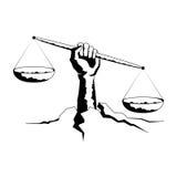 Libra del segno dello zodiaco Illustrazione di vettore Fotografia Stock Libera da Diritti