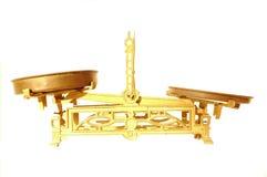 Libra dell'oro Immagine Stock