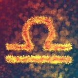 LIBRA horoskopu znak Fotografia Royalty Free