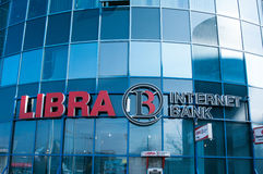 Libra internet bank Stock Photography