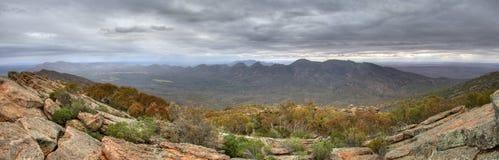 Libra nublada de Wilpena Foto de Stock Royalty Free
