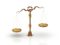 Libra/scale Royalty Free Stock Photo