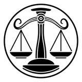 Libra Scales Zodiac Horoscope Sign Stock Images