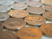 Libra y x28; GBP& x29; moneda, Reino Unido y x28; UK& x29; Imagen de archivo