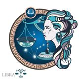 Libra. Zodiac sign Royalty Free Stock Photos