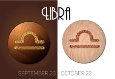 Libra zodiac sign Stock Images