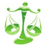 Libra Zodiac Star Sign Stock Image
