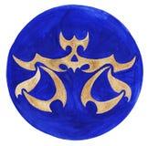 Libra Zodiac Symbol. Watercolor Illustration.The zodiac icon. Astrology.