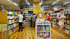 Librairie images stock