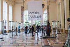 Librairie (boekhandel) in het Petit Palais, Parijs, Frankrijk Royalty-vrije Stock Fotografie