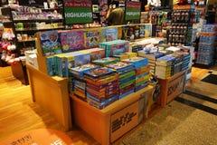 Librairie dans l'aéroport Singapour de Changi Photo stock