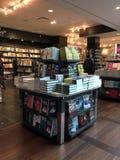 Librairie dans le Canada d'aéroport de Vancouver Images libres de droits