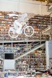 Librairie de Ler Devagar Photographie stock