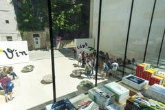 Librairie de Vincent Van Gogh Foundation Arles images libres de droits