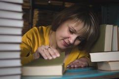 Librarian. stock photo
