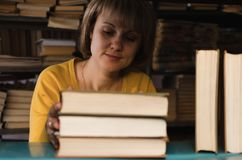 Librarian. royalty free stock photos
