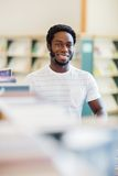 Librarian Smiling In Bookstore Royalty Free Stock Photography