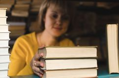 Librarian. royalty free stock photography