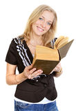 Librarian woman Stock Images