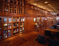Library. Of Franz Mayer Museum at Mexico City royalty free stock photo