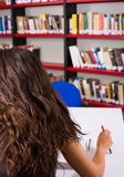 In the library Royalty Free Stock Photography