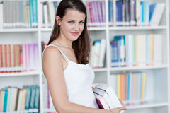 In the library Royalty Free Stock Image