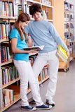 In library Stock Image