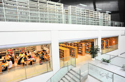 Library. People studying at library,shenzhen city,china Stock Photo