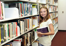 At the Library Stock Images