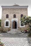 Library of Ahmet Havuz Rhodes. Library of Ahmet Havuz near the Suleymaniye Mosque or the Mosque of Suleiman is a mosque originally built after the Ottoman Royalty Free Stock Photos