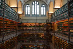 Library amsterdam historical museum famous Stock Images