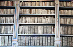 Library with ancient books Royalty Free Stock Photography