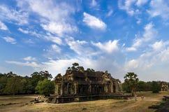 A library at Angkor Wat. Siem Reap, Cambodia - April 14, 2013 : The Library on the grounds of Angkor Wat at Siem Reap in Cambodia Stock Image
