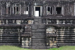 Library in Angkor Wat Temple Royalty Free Stock Photography