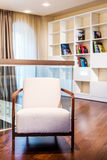 Library with arm chairs. Stock Images